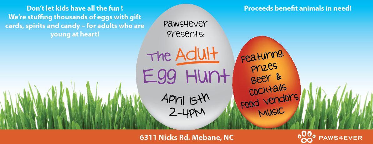 Paws4ever Adult Egg Hunt